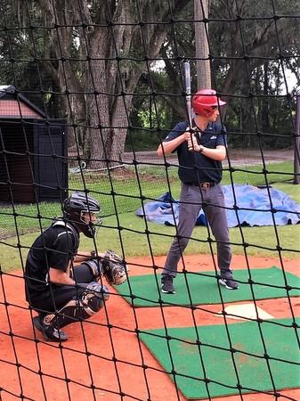 ▲德州棒球農場創辦人Randy Sullivan與馮勝賢。(圖/記者劉峻誠攝)