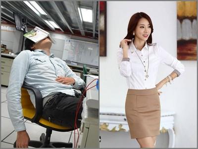 色胚老闆逼走普妹助理,改聘超正瞎妹…到職後便人間蒸發