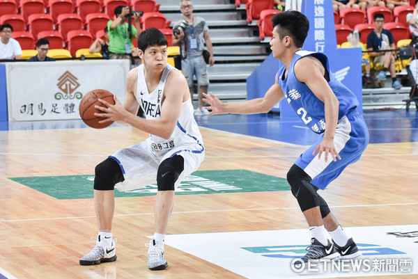 ▲▼瓊斯盃男子組,中華白對南韓。金善亨(圖/記者李毓康攝)