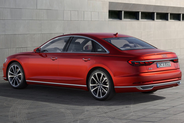 ▲集結科技於一身全新旗艦!Audi A8讓自動駕駛更進一步。(圖/翻攝自Audi)