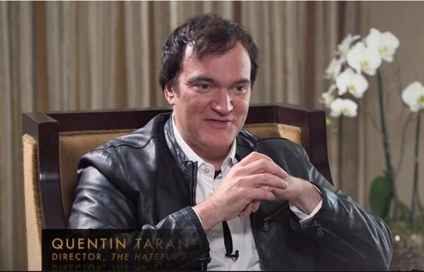 昆汀塔倫提諾接受訪問時釋出了《追殺比爾3》的消息。(圖/取自《Variety》)