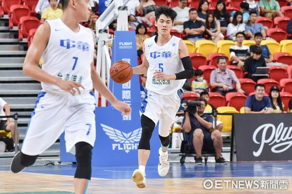 ▲▼瓊斯盃男子組,中華藍對日本。劉錚(圖/記者李毓康攝)