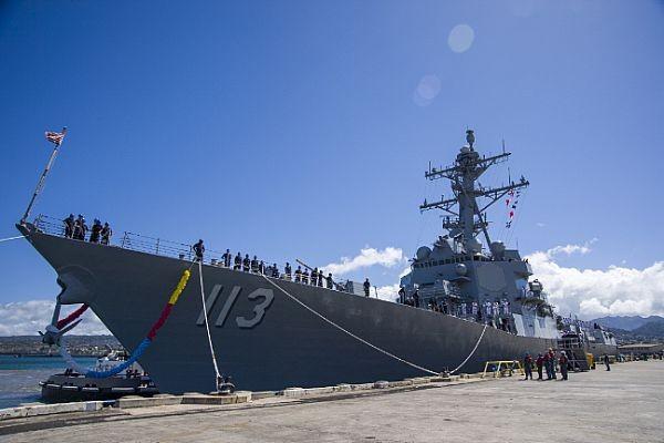 神盾驅逐艦,台灣海峽,共軍,美軍,印太區域,第七艦隊,美中關係