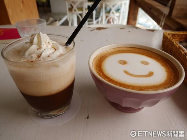 ▲Ancre café安克黑咖啡。(圖/記者彭懷玉攝)