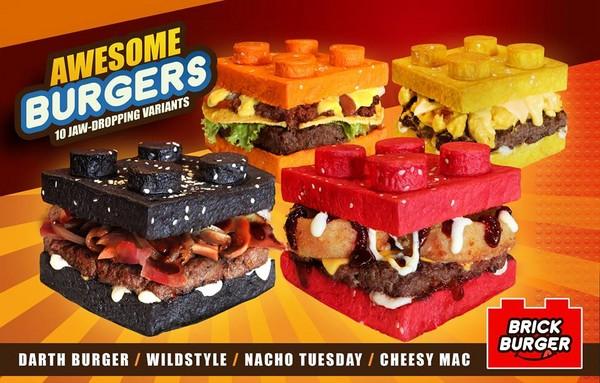 ▲菲律賓以樂高為發想的主題餐廳。(圖/Brick Burger粉絲頁)