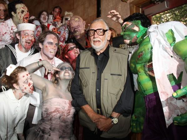 「恐怖電影之父」喬治羅密歐(George A Romero)肺癌辭世。(圖/達志影像)