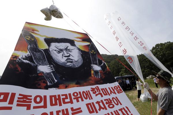 ▲▼脫北者、金正恩、北韓、南韓             。(圖/達志影像/美聯社)