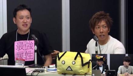 ▲清水健與PC園田一起上節目。(圖/翻攝自Niconico News)