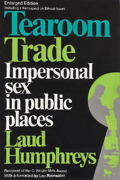 Laud Humphreys《茶室交易(Tearoom Trade)》(翻攝自美國亞馬遜)