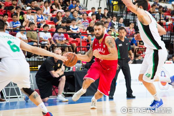 ▲▼瓊斯盃男籃,加拿大對伊拉克,加拿大5號 克普蘭。(圖/記者季相儒攝)