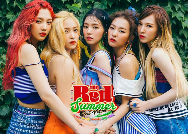 ▲Red Velvet《Red Flavor》專輯照。(圖/翻攝自SM NOW)