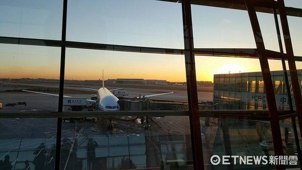 北京機場。(圖/記者洪聖壹攝)
