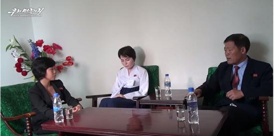 ▲脫北正妹「自願回北韓」 逃到南韓「只能做酒店妹」像地獄(圖/翻攝朝鮮自由電視台)