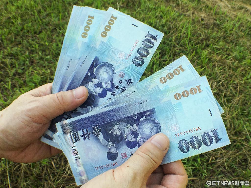 金融,投資,鈔票,1000元,消費(圖/記者張一中攝)