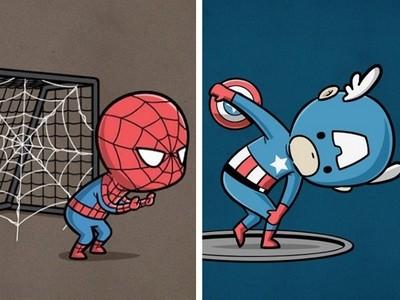 這次不拯救世界!漫威英雄決定改在運動場上發揮超能力