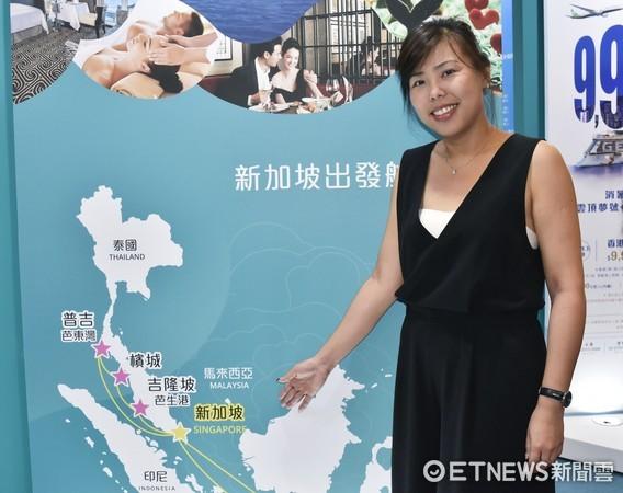 ▲新加坡旅遊局華東區處長關淑敏。(圖/記者陳涵茵攝)
