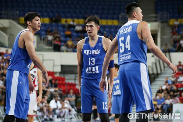▲瓊斯盃男籃-中華藍對加拿大-呂政儒。(圖/記者林世文攝)