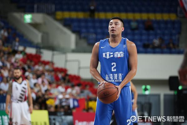 ▲瓊斯盃男籃-中華藍對加拿大-蘇翊傑。(圖/記者林世文攝)