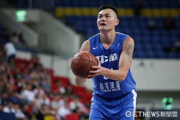 ▲瓊斯盃男籃-中華藍對加拿大-吳岱豪。(圖/記者林世文攝)