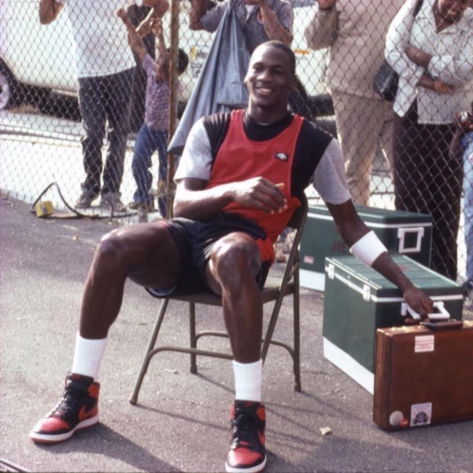 ▲▼籃球之神「麥可喬丹」(Michael Jordan)。(圖/翻攝自Jordan臉書)