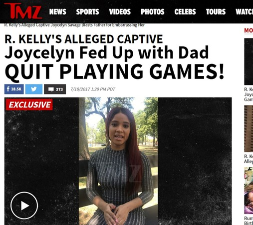 勞凱利(R. Kelly)被控軟禁6女當性奴。(圖/翻攝自TMZ)