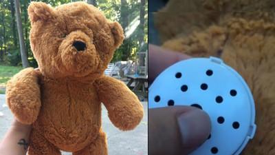 二手泰迪熊內藏一段錄音,網路尋原主人卻換來悲傷故事