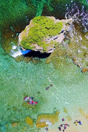 小琉球是台灣近海唯一一座珊瑚礁島,擁有豐富美麗的海洋資源。