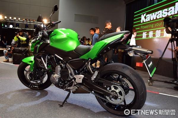 Kawasaki 2017年度新車御賞會(圖/記者游鎧丞攝)