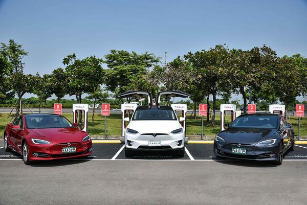 西部縱走也不成問題!特斯拉台南超級充電站正式啟用(圖/翻攝自Tesla)
