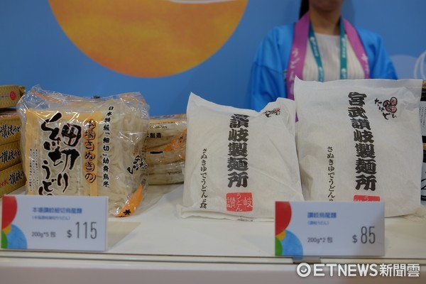 ▲台灣美食節日本展區。(圖/記者于佳云攝)