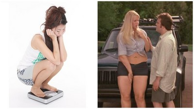 女生老減不了肥? 研究:男伴不夠帥