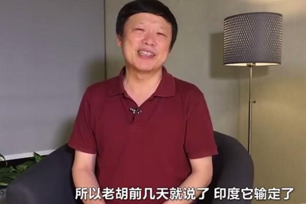 ▲《環球時報》總編輯胡錫進。(圖/翻攝環球網)