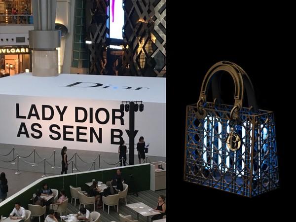 ▲Lady Dior As Seen By藝術展(圖/記者楊坊士攝、品牌提供)