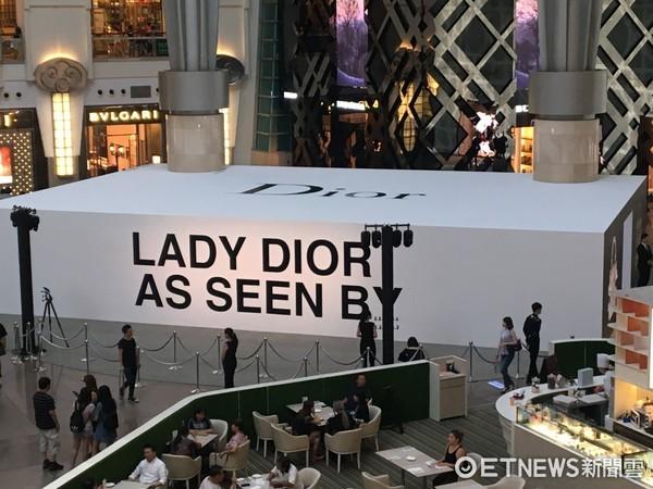 ▲Lady Dior As Seen By藝術展(圖/記者楊坊士攝)