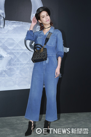 ▲▼Lady Dior藝術展星光大道-陳庭妮。(圖/記者黃克翔攝)