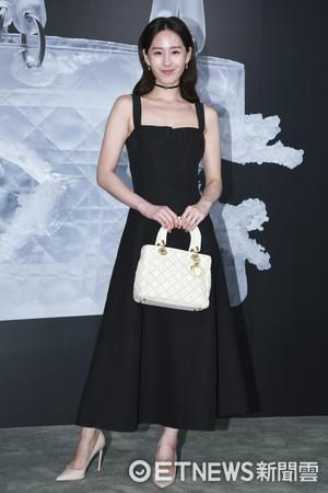 ▲▼Lady Dior藝術展星光大道-曾愷玹。(圖/記者黃克翔攝)