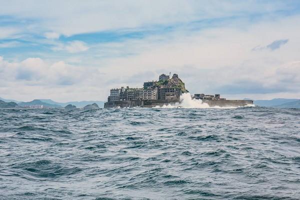 ▲長崎外島軍艦島。(圖/Alan攝影)