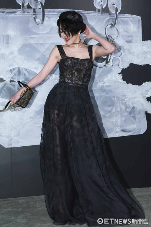 ▲▼ Lady Dior藝術展星光大道-徐熙娣。(圖/記者黃克翔攝)