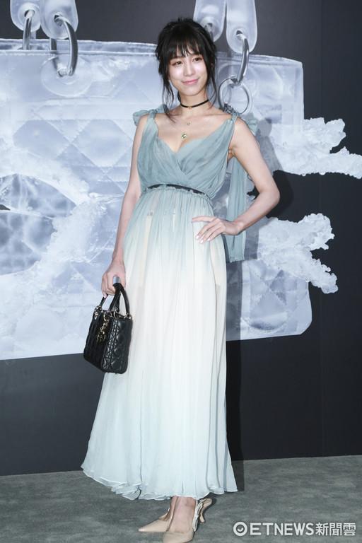 ▲▼Lady Dior藝術展星光大道-溫貞菱。(圖/記者黃克翔攝)