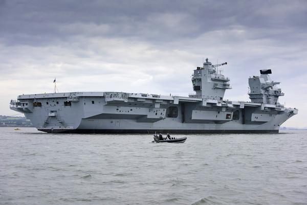 ▲▼伊莉莎白女王級航空母艦。(圖/英國航太系統公司官網)