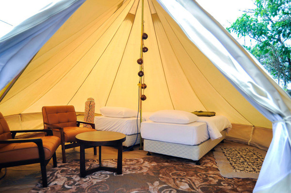 全台唯一半島「露營秘境」擁星空聽海聲 有限定神殿帳