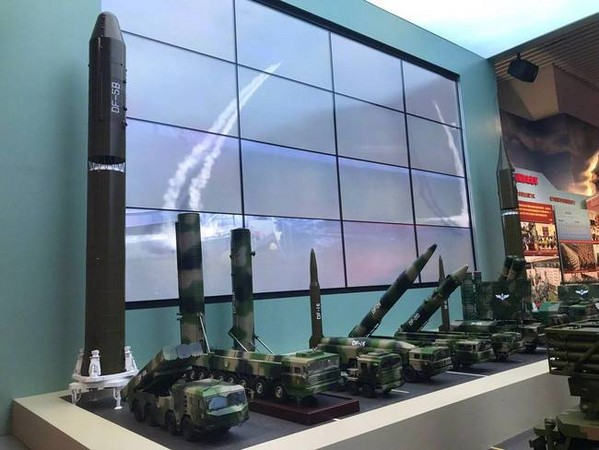大陸「東風-31AG」洲際彈道飛彈。(圖/翻攝大陸網站)