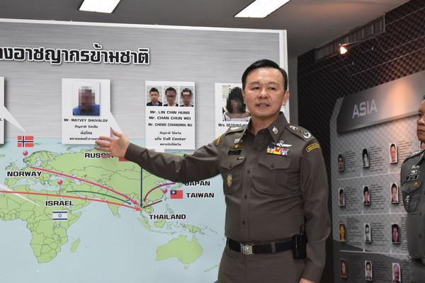 ▲泰國移民總局長納塔通。資料照(圖/翻攝泰國移民局網站)