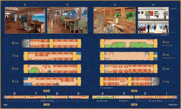 ▲橫濱伊豆豪華火車Roral Express。(圖/the-royalexpress.jp)