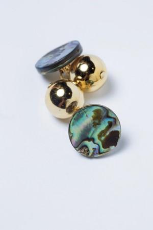 東區小店買的耳環。約NT$1,000