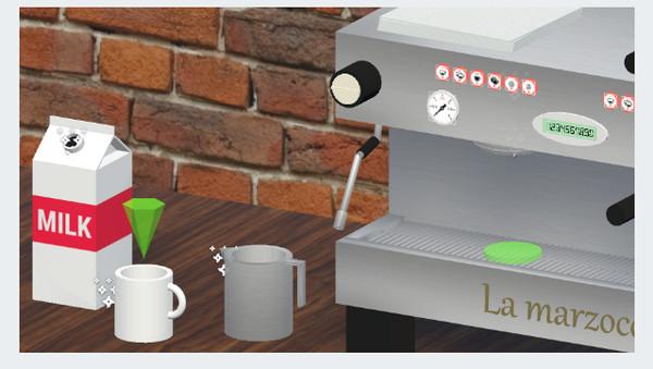 ▲VR不只能玩遊戲,培訓咖啡店員工更有效率(圖/翻攝 Google)