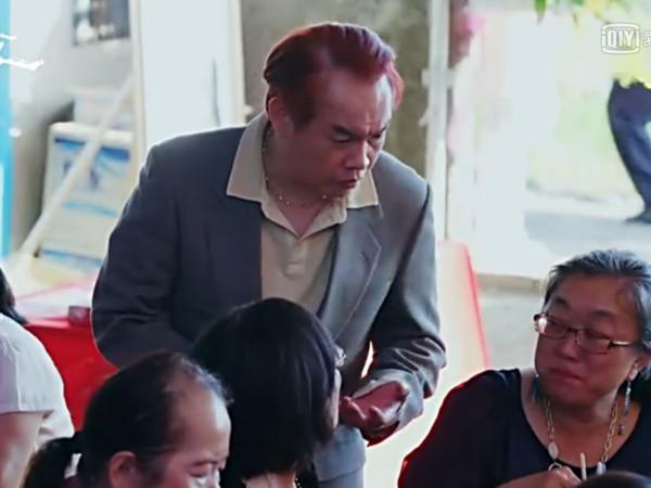 康康在《花甲》中飾演鄭光仁。(圖/翻攝愛奇藝)