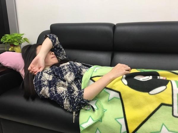 賴床,睡覺,想睡,睡,愛睏。(圖/記者嚴云岑攝)