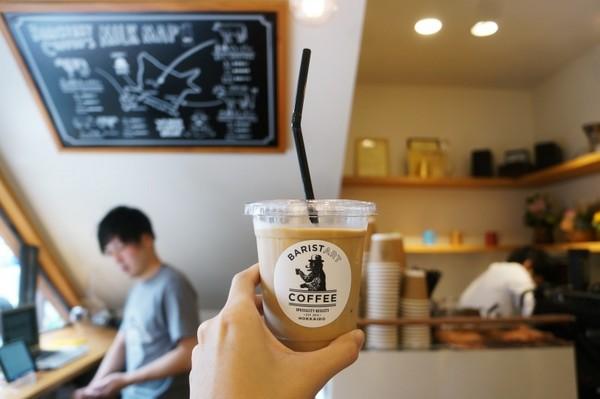札幌咖啡館速記。(圖/記者何冠嫻攝)