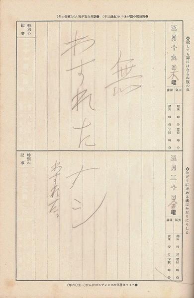 挖出「昭和13年」小學日記 翻開發現二戰中最純樸的一刻(翻攝自日本2CH網站)